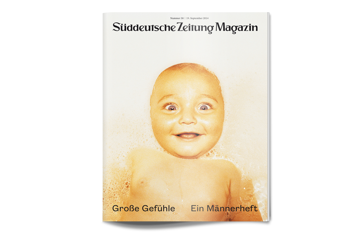 Maenner und grosse Gefuehle im Magazin der Sueddeutschen Zeitung 1