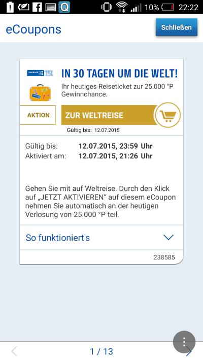 Payback schickt Dich mit der Payback App auf eine Weltreise  (3)