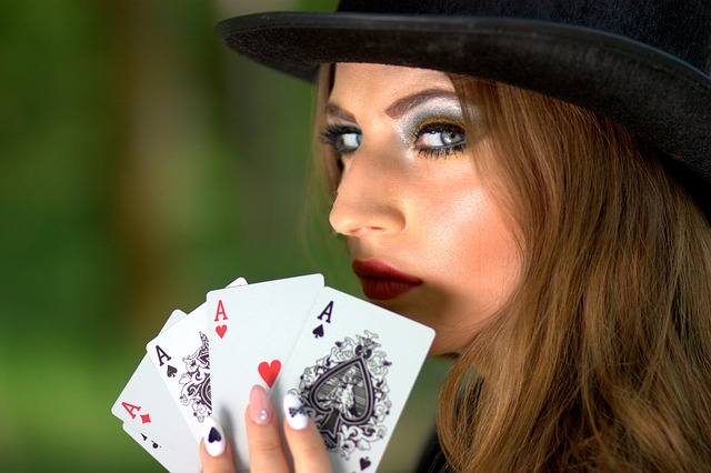 Schönheit in der Casinowelt