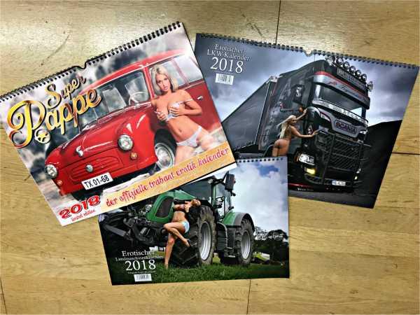 """Gewinnspiel – """"Sex"""" erotische Kalender für echte Männer 2018"""