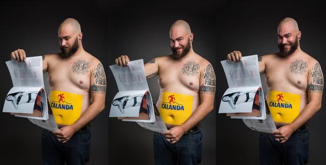 Der Bierbauchkalender von Kristina Sprenger